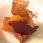 Chocolate, praliné e café