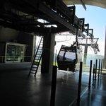 Funchal - La funivia - Si parte verso la discesa