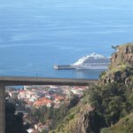 Funchal - La funivia - Il porto visto dall'alto