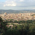 View of Florence from the hotel