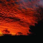 Sunrise over Jodrell Bank