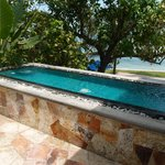 Private Pool/Jacuzzi of the Honeymoon Suite
