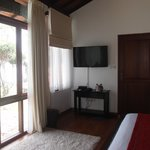 LED TV and spacious room