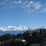 View of Kanchanjunga for Delkeling Hotel