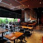 Indoor of District 10 Restaurant and Bar