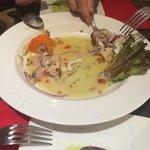 Cebiche en Restaurant El Tambo