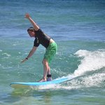 53 and surfing for the first time