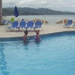 Choice of pool or beach was great!