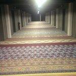 Corridoio con ingressi alle camere