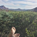View from Sedona Serenade room