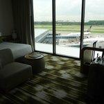 Zimmer im Hotel Crowne Plaza Changi Airport