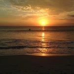 sunset di jimbaran