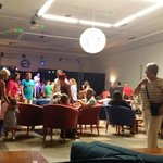 Main bar/entertainment room/kids disco area