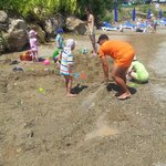 Детская анимация на пляже