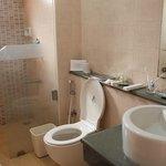 salle de bains usagée