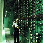 Master James in the Wine Cellar! Thanks Putra