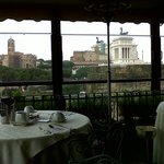 Vista desde el salón comedor en la Azotea