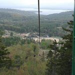 more amazing views before we zip