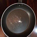 worn pan