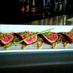 Seared Tuna Appetizer