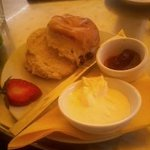 One amazing cream tea!!!