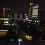 Night view from 11. floor
