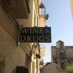 Wine shop.  Expensive.