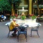 Courtyard and Buffet Breakfast