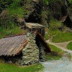 Peasant farmer's huts