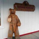 Love the Bear outside the Creamery
