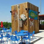 upper deck fish fry stand