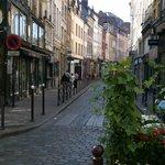 Ruelle piétonne dans le Vieux Lille