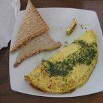 Caprese Omelett