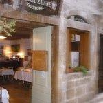 Entrance of breakfast room