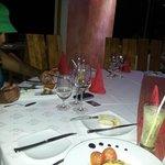 repas du soir  ambiance feutrée