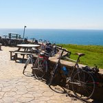The Mull of Galloway is very popular with cyclists