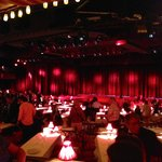 Inside Moulin Rouge at Showtime