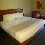 das riesige Bett