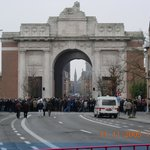 5 mins walk - The Menin gate