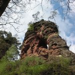 Imposante Felsenlandschaft