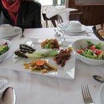 Dede Efendi Kaya Restaurant refeição