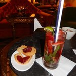 Strawberry Mojito; een aanrader in T-bar