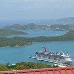 Views from Paradise Point St. Thomas US Virgin Islands