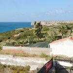 Mareta beach hotel, view from room