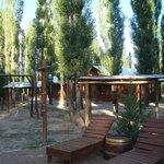 Cabanas a 1 Km do centrinho de Uspallata.