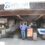 Me in front of Anthony's Fish Grotto