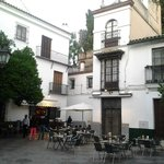 Rincón del barrio de Santa Cruz.
