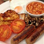 full veggie breakfast, hepworth do meat ones too