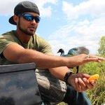 Tourguide Willie beim Füttern seiner Lieblingsvögel