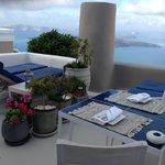 Morning Breakfast Terrace Area